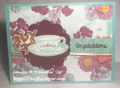 Time for Tea, Stampin' Up!
