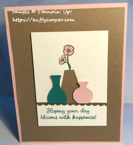 Varied Vases, Stampin' Up!