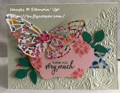 Abstract Impressions, Stampin' Up!, Bunch of Blossoms