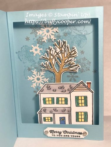 Farmhouse Christmas, Beautiful Blizzard, Stampin' Up!