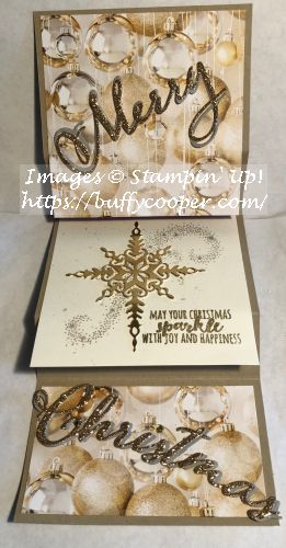 Christmas Pines, Star of Light, Stampin' Up!