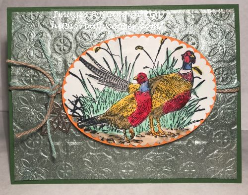 Pleasant Pheasants, Stampin' Up!