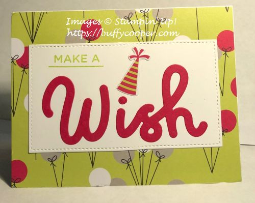 Broadway Birthday, Stampin' Up!, Paper Pumpkin
