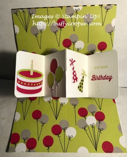 Broadway Birthday, Broadway Bound, Stampin' Up!, Paper Pumpkin