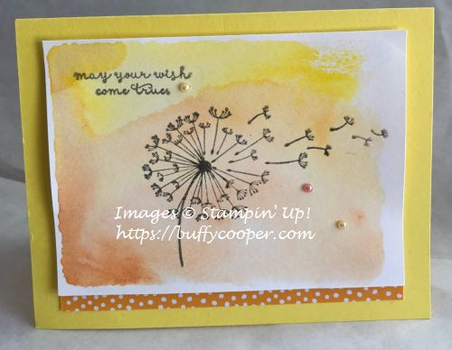 Dandelion Wishes, Fairy Celebration, Stampin' Up!