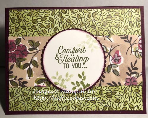 Stampin' Up!, Rooted in Nature, Flourishing Phrases