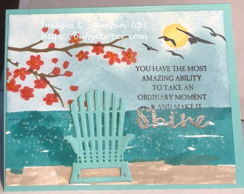 Colorful Seasons, Waterfront, High Tide, Stampin' Up!