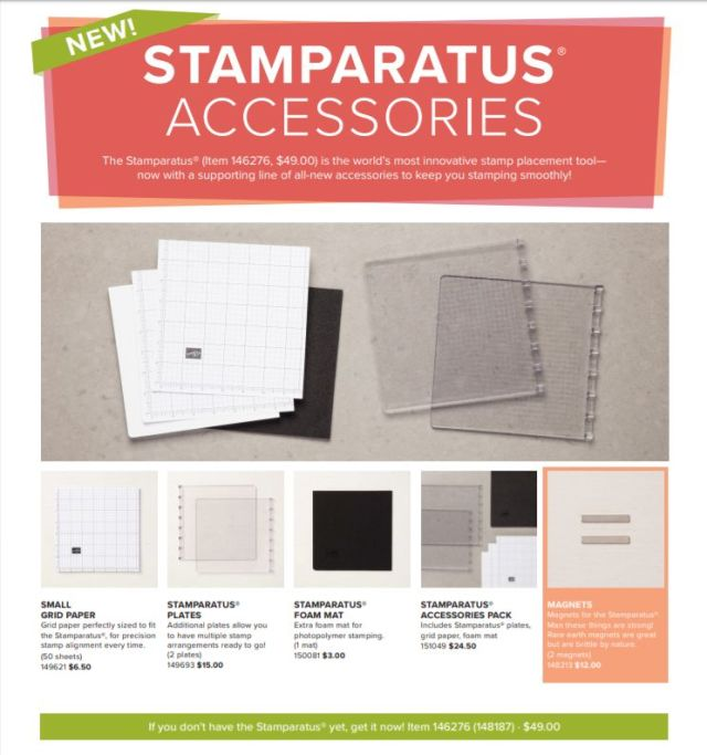 Stamparatus Accessories, Stampin' Up!