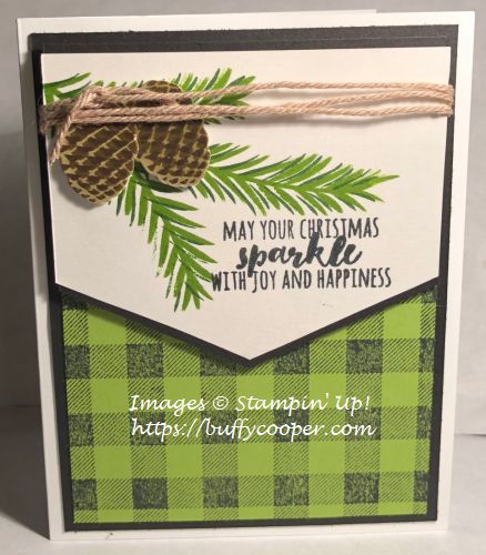 Christmas Pines, Stampin' Up!