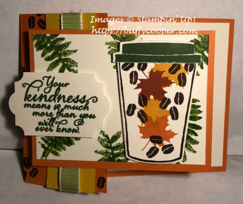Coffee Cafe, Stampin' Up!, Painted Harvest, Colorful Seasons