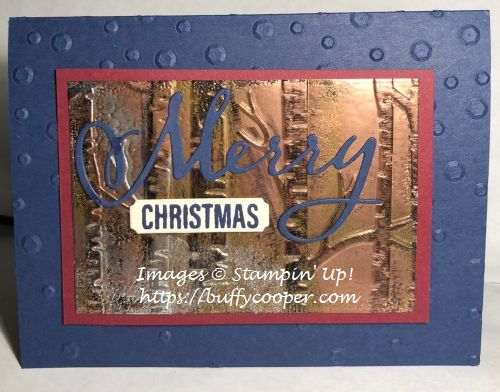 Merry Christmas to All, Stampin' Up!, Farmhouse Christmas