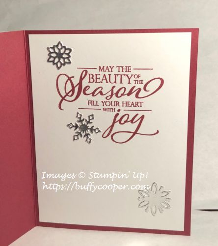 Merry Christmas to All, Stampin' Up!