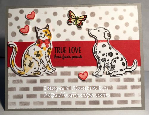 Stampin' Up!, Nine Lives, Happy Tails, Butterfly Gala