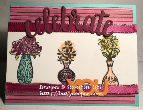 Vibrant Vases, Stampin' Up!