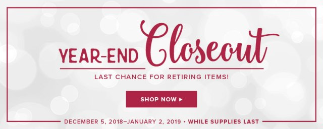 Stampin' Up!, Year End Closeout