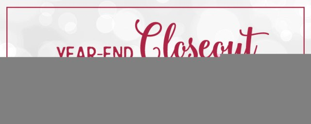 Year-End Closeout, Stampin' Up!