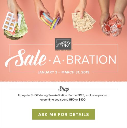 Sale-a-bration, Stampin' Up!