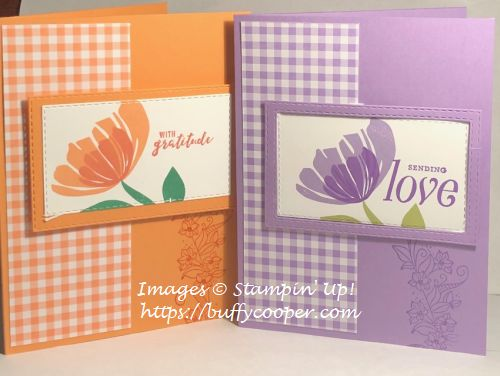 Bloom by Bloom, Stampin' Up!, Floral Frames, Itty Bitty Greetings