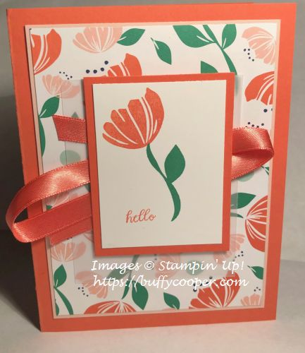 Happiness Blooms, Bloom by Bloom, Stampin' Up!