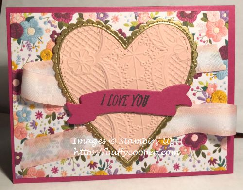 Stampin' Up!, All My Love, Valentine's Day