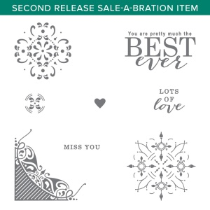 All Adorned, Sale-a-bration, Stampin' Up!
