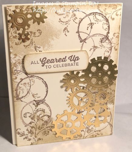 Geared Up Garage, Stampin' Up!, Artisan Textures, Timeless Textures