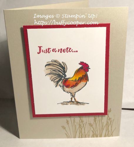 Stampin' Up!, Home To Roost