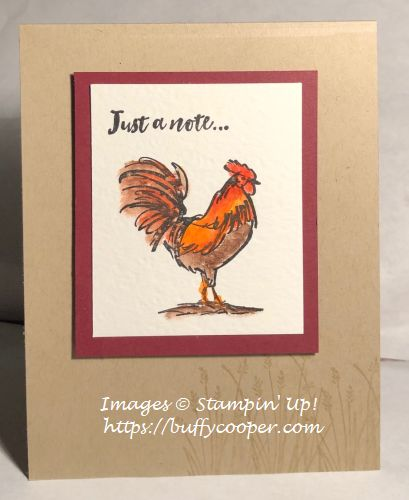 Home To Roost, Stampin' Up!