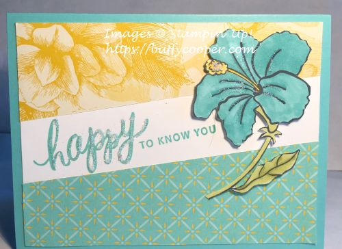 Friendly Expressions, Humming Along, Stampin' Up!