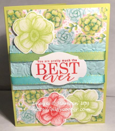 Painted Seasons, All Adorned, Stampin' Up!