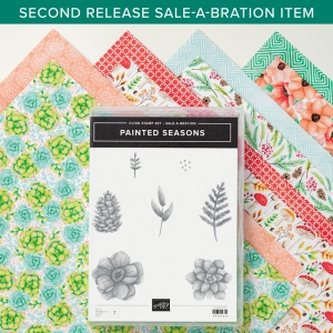 Stampin' Up!, Painted Seasons, Sale-a-bration