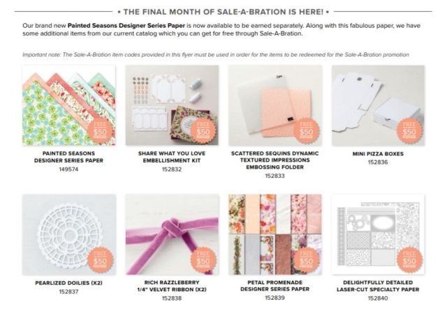 Stampin' Up!, Sale-a-bration