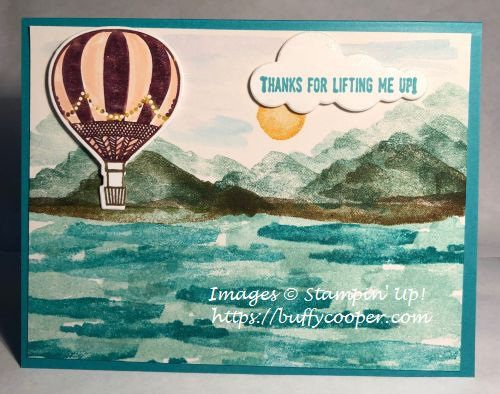 Lift Me Up, Waterfront, Stampin' Up!