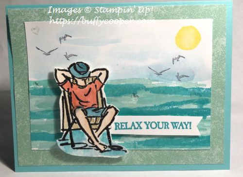 A Good Man, Stampin' Up!, Waterfront