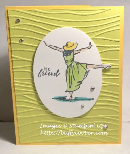 Stampin' Up!, Beautiful You, Itty Bitty Greetings