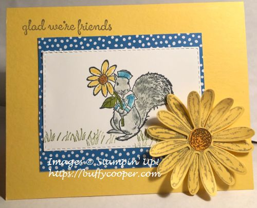 Fable Friends, Stampin' Up!, Daisy Delight
