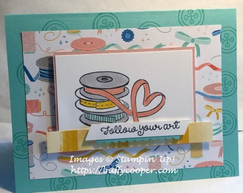 Follow Your Art, Stampin' Up!