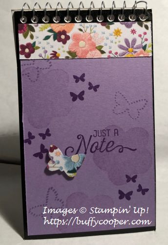 Stampin' Up!, Butterfly Duet, Needle & Thread