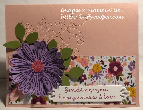 Stampin' Up!, Daisy Delight, Needlepoint Nook
