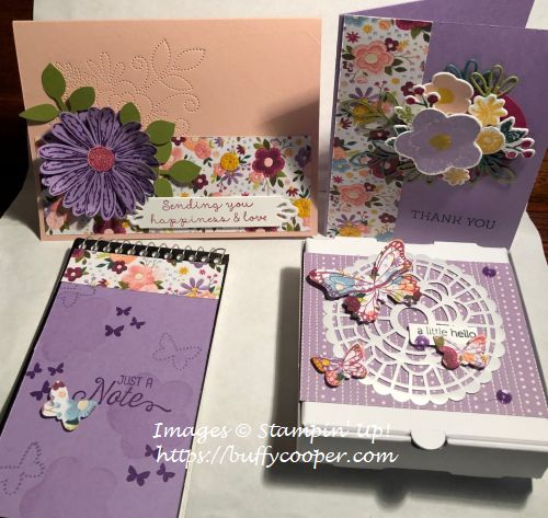 Stampin' Up!, Needle & Thread, Butterfly Gala