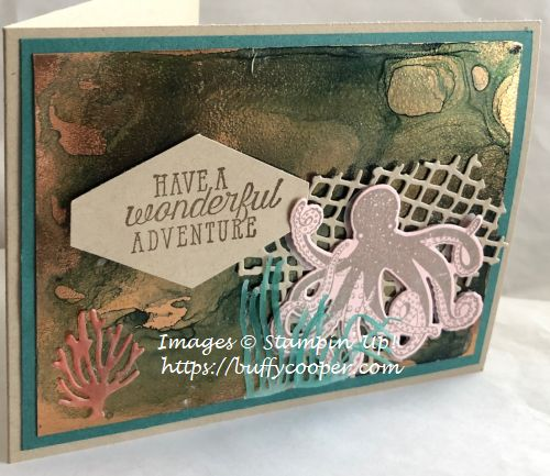 Stampin' Up!, Sea of Textures, Brusho Crystal Colour