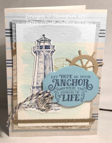 Sailing Home, Stampin' Up!