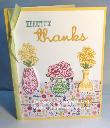 Stampin' Up!, Vibrant Vases, Well Said