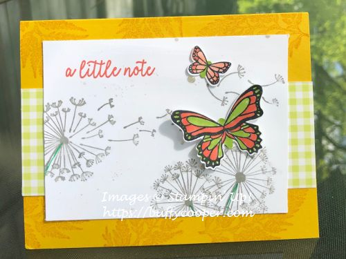 Butterfly Gala, Dandelion Wishes, Stampin' Up!
