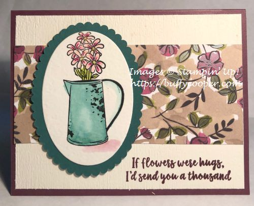 Stampin' Up!, Vibrant Vases, Country Home