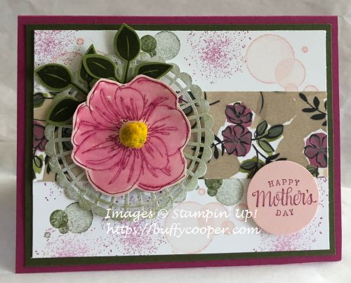 Stampin' Up!, Beauty Abounds, Tea Together, Artisan Textures, Perennial Essence