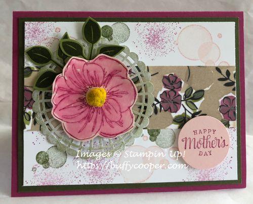 Stampin' Up!, Beauty Abounds, Tea Together, Artisan Textures, Perennial Essence