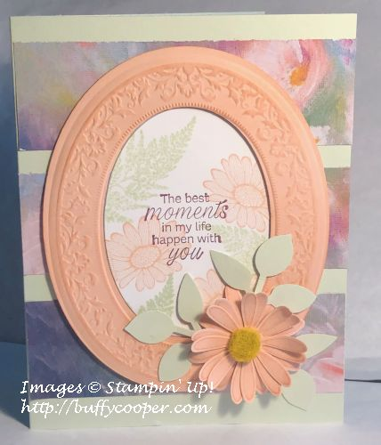Daisy Lane, Heirloom Frames, Stampin' Up!