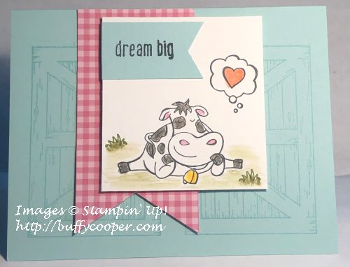Over the Moon, Stampin' Up!