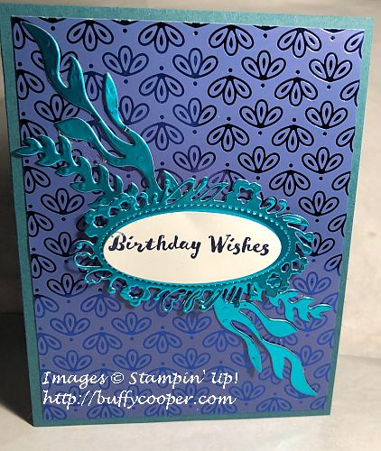 Itty Bitty Birthdays, Perfect Peacock, Stampin' Up!